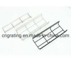 Malla de alambre de acero galvanizado Bandeja Bandeja de cable de tipo escalera perforada