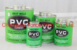 أسمنت الأنابيب الغراء اللاصق من الأسمنت عالي الجودة PVC/UPVC/CPVC أسمنت مذيب أخضر وبلو Label حار البيع جودة عالية