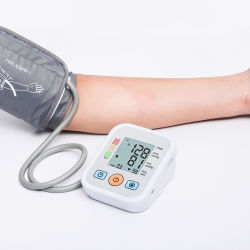 Impulso automatico elettronico di frequenza cardiaca del video del tester di pressione sanguigna della manopola di Digitahi