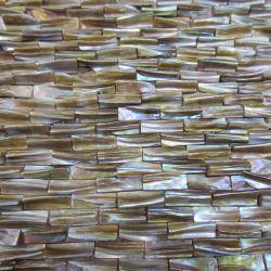 Eindeutige Shell-Mosaik-Dekoration-Fliesen, Bogen-Gesichtnatürlicher Seashell für Puder-Raum, Badezimmer, Rückseiten-Spritzen
