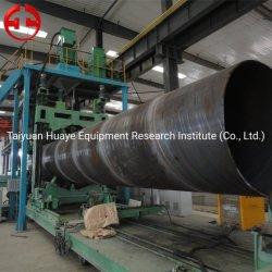 Les tuyaux soudés en spirale SSAW automatique Making Machine pour les tuyaux de gaz d'huile
