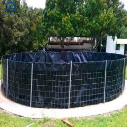 CE ISO 0.75mm 블랙 스무스 지오멤브레임으로 맞춤 제작한 연못 라이너 HDPE 어류 탱크용 라이너 어류 연못 라이닝 소재 막