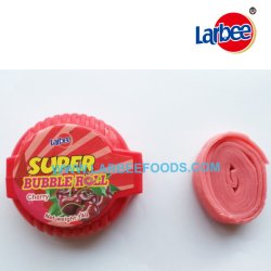 Halal Süßigkeit sortiert, Kaugummi kauend