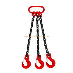マスターリンクおよびUリンクのグラブのホックが付いている二重足のチェーン吊り鎖