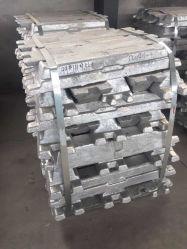 Fabricante chinês a venda directa de lingotes de ligas de alumínio, lingote de zinco, lingote de metal, lingote de liga de zinco