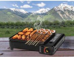 Mini estufa de gas butano portátil para el gourmet al aire libre