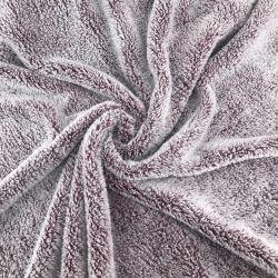 Super doux 100% Polyester flanelle Couverture polaire floue en peluche