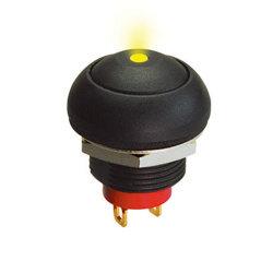 DOT LED iluminado Multiful Interruptor de botón de la luz de color para la opción