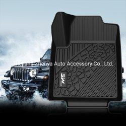 Fußboden-Matte des Qualitäts-volles Set TPE-Auto-Matte kundenspezifische Auto-3D für Jeep