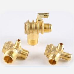Compresor de aire portátil Pieza de repuesto de válvula de retención de aleación de zinc