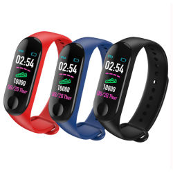 Amazon vende caliente barato Smartwatch Fitness Tracker M3 de la banda inteligente