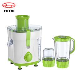 粉砕機およびフィルターが付いている台所機器のための350W 4 In1野菜およびフルーツのJuicerの混合機