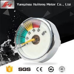 China ABC-Feuerlöscher-Ministab 6-11 ABS Plastikdichtung 1 Zoll-Membranmessingdruckanzeiger für Feuer