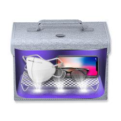USB die de UVDesinfectie van de Lamp de Kiemdodende het Voeden Kleren van het Stuk speelgoed van de Fles het UVC laden Lichte het Zuiveren Vouwen van de Zak