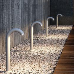 خارجيّ حديقة [وتر فوست] ضوء منظر طبيعيّ درب عرنوس الذرة مرج مصباح كشّاف ساعة دار ألومنيوم عمود [بولّرد] ضوء