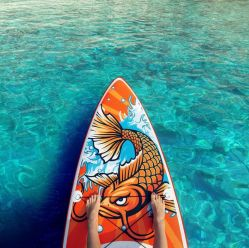 Produit chaud Standup Paddle Board Race gonflable Conseil Sup Sup Paddle