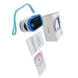 De gros de la saturation en oxygène du sang d'affichage OLED Clip Fingertip oxymètre de pouls périphérique d'essais d'oxygène du sang