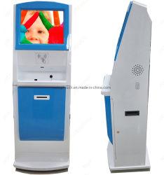 19 Polegadas Digital Automático electrónico interior Ecrã táctil Kiosk interativo Terminal com impressora