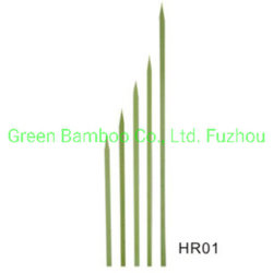 일회용 BBQ Flat Bamboo 꼬치 모든 크기 및 포장