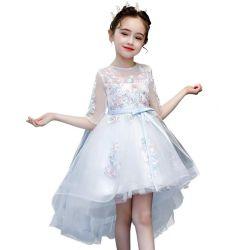 2021で新しい女の子の短い袖のありのスカートの赤ん坊の摩耗の刺繍の服の衣服の子供の服装の卸売の子供は製品の女の赤ちゃんを決め付けた