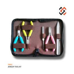 Reeks van de Uitrusting Tk002 van de Hulpmiddelen van de Juwelen van Poptings de MiniPlier DIY