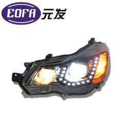 Clique duas vezes a lente óptica Carro do Conjunto da Lâmpada do Farol HID para Subaru XV