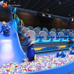 L'intérieur du système de Simulateur VR 4D 5D enfants parc à thème du cinéma Cinéma