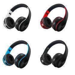 Cabeça de Metal Super Dobrável Bass Fone de ouvido Bluetooth sem fio fone de ouvido com alça D-422