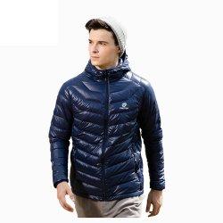 人のコートのUltralight白い冬の標準的な衣類
