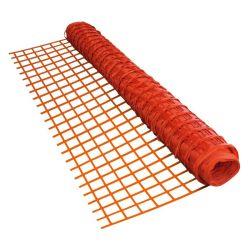 Construção de andaimes de malha laranja empurrador de aviso de Compensação de segurança