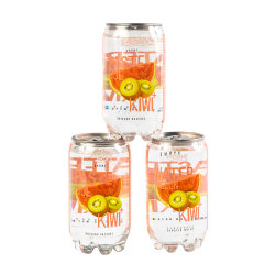 Marca privada Kiwi+Melão Sabor Açúcar Baixa Bebidas carbonatadas