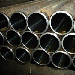 Dibujada en frío de acero al carbono sin fisuras o aleación de acero, tubo de cilindro hidráulico perfeccionado
