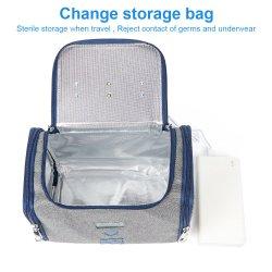 La grande casella UV chiara 99.99% del prodotto disinfettante del LED dello sterilizzatore del sacchetto UV portatile del pulitore ha pulito con nel caso di disinfezione di 3 minuti