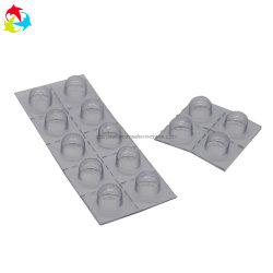 Embalagem de plástico médicos descartáveis transparente Bandeja para comprimidos