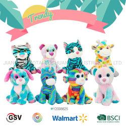 Los animales de moda tener perro gato Jirafa Monkey Unicorn Leopard Tiger juguete de peluche