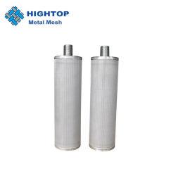 Bougie en acier inoxydable de filtres et tubes poreux
