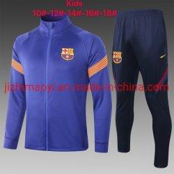 Los niños al por mayor trajes de ropa deportiva de fútbol formación Fútbol chaqueta de prendas de vestir prendas de vestir