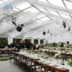 Tenda foranea trasparente esterna delle tende di evento della festa nuziale del tetto della grande portata libera
