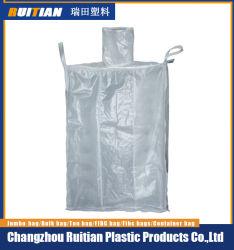 Plate Punch Baffle Breathable FIBC BagかTon Bag/Type B Big Bagの正方形のBag