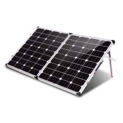 Солнечная панель производителя в Китае 200 Вт 12в. Monocrystalline Складная солнечная панель 2ПК 100W
