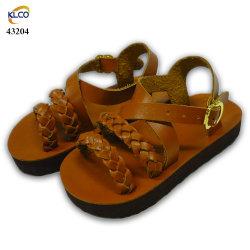 Los niños sandalias zapatos de China Los niños las niñas las Zapatillas de cuero Sandalls zapatos para niños Los niños y niñas