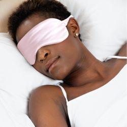 Maschera di lusso in seta 100% maschera di sonno in seta di gelso Anti-Aging Cura della pelle
