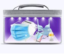 Saco do esterilizador UV, Saco portátil da caixa do desinfetante UVC com USB recarregável LED Ferramenta de limpeza de desinfecção por luz UV para máscara / tel
