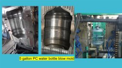 Trinkwasser-Wannen-Flaschen-Form des gute Qualitätspolycarbonat-18.9L/Blasformverfahren-Fertigung in China