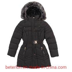 La moda cinturón capó /Coat Chaqueta de Mujer Invierno desgaste al aire libre