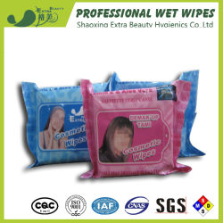 OEM Women Organic Cosmetic Removal Wet Wipes pour soins personnels