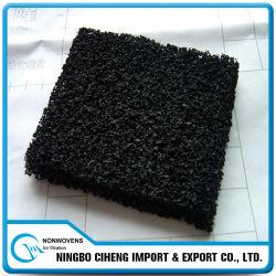 Feuilles granulaires de filtre de mousse de bloc de charbon actif de polyuréthane de l'épaisseur 5mm