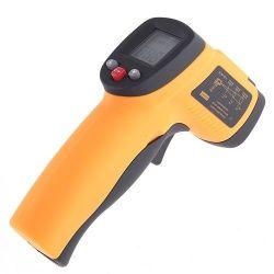 GM550 berührungslose digitale Infrarot-Thermometer Laser-Punkt-Temperaturmessgerät