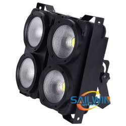 4 عيون 400 واط 2in1 مؤشر LED ثنائي باعث للضوء ثنائي باعث للضوء ثنائي باعث للضوء ثنائي باعث للضوء استوديو الجمهور