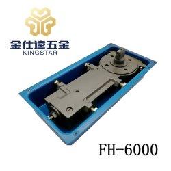 FH-6000 madera aluminio puerta de vidrio de piso abridor de puerta bisagra hardware de montaje de la primavera